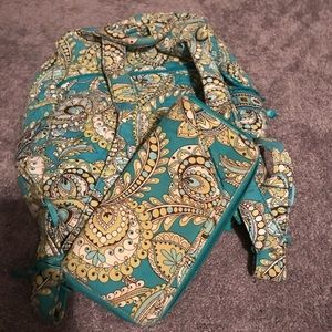 Vera Bradley backpack and wallet